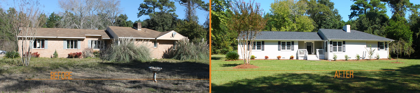 Before and After using Anchored Second Home Management services